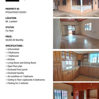 Unfurnished Apartment with Two Bedrooms - Mt Lambert