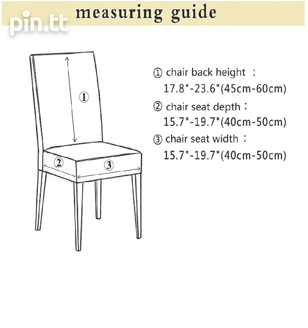 6pc Burgundy Dining Set Chair covers-5