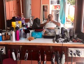Fully Powered Barber Station