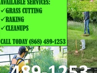 Lawn/grass cutting services