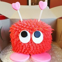 Love bug cake.. cupcakes and other valentine goodies