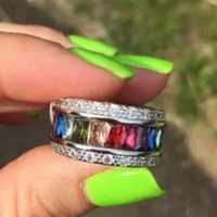 Colorful Ring 6 and 10