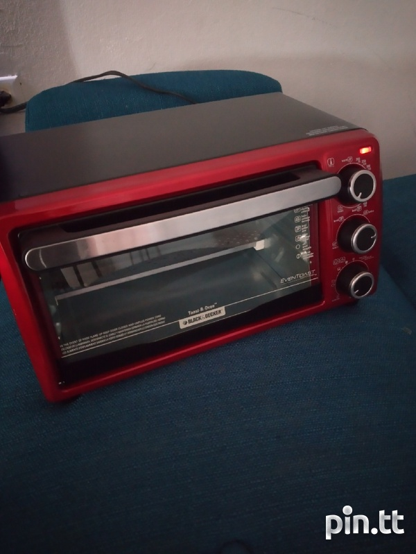Toaster Oven, Black and Decker-2