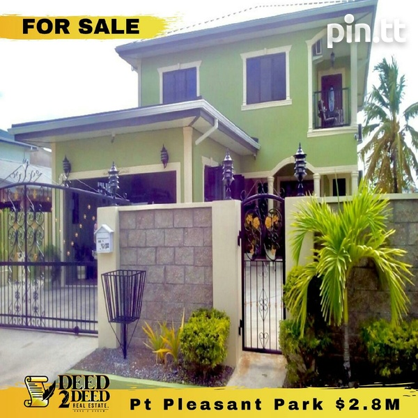 TWO STOREY 4 BEDROOM HOME, POINT PLEASANT PARK, CUNUPIA-1