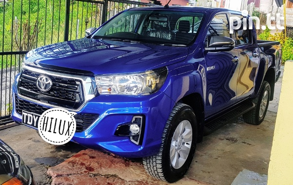 Toyota Hilux, 2019, TDY-4