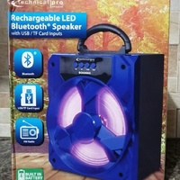 Rechargeable LED Bluetooth Speaker and Radio