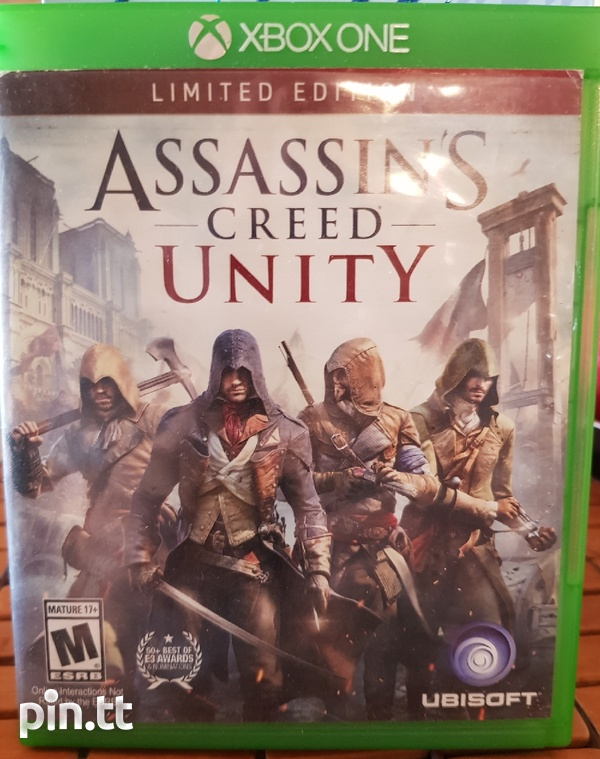 Assains Creed Unity Xbox One