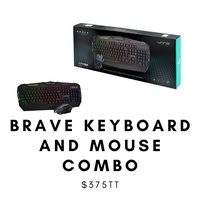 Brave Keyboard and Mouse Combo