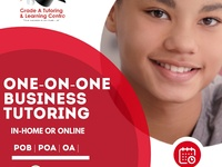 One-on-one business tutoring
