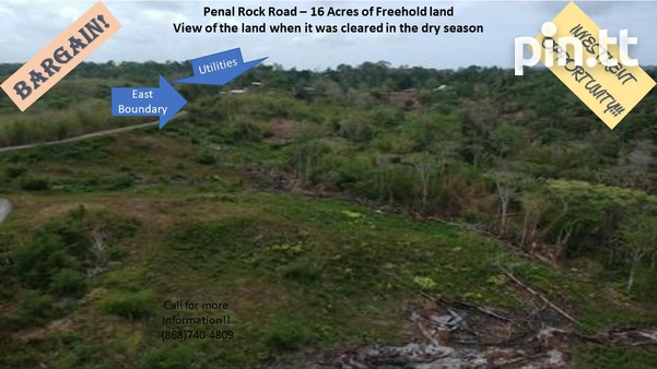 Investment Opportunity- 16 Acres of Penal Rock Road Freehold Land-1