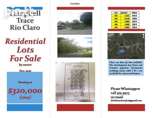 Lots - Campbell Trace, Libertville, Rio Claro-3