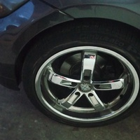 BMW 18inch chrome staggered rims for trade