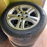Original Honda 16 inch rims and tyres