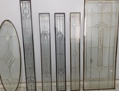 Decorative Tempered Glass Inserts - Doors