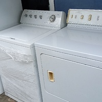 Whirlpool washers and dryer combo