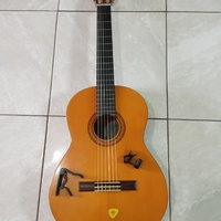 Yamaha Acoustic-Electric Guitar with Accessories