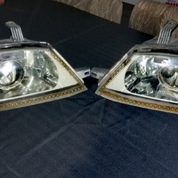 Pair of y11 retrofitted headlights