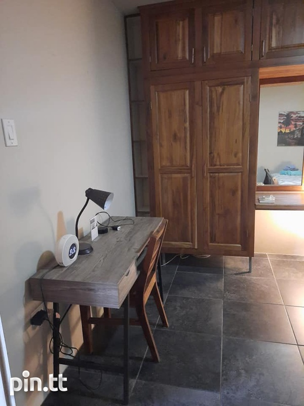 Orchid Gardens Chaguanas Furnished 1 Bedroom Apartment-7