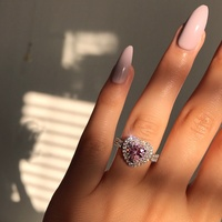 Sterling silver rings - size 7