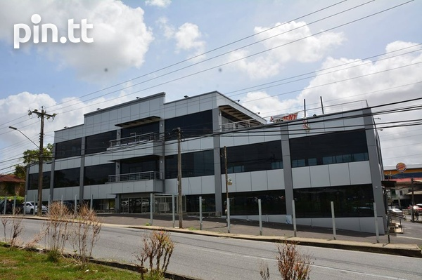 Charles Street North, Gasparillo, NEW 3 Storey Commercial Building-1