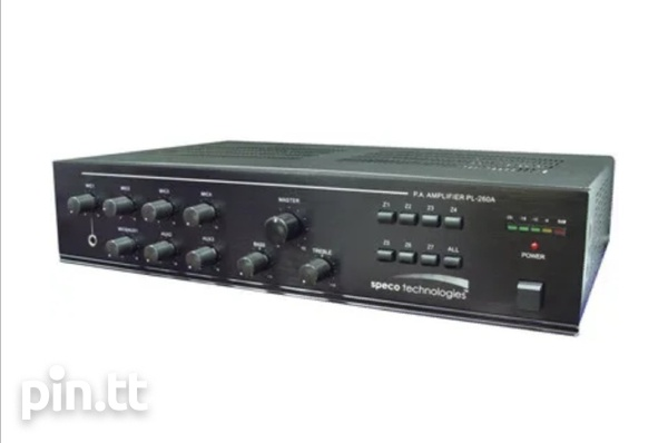 Speco Amplifier PL260A