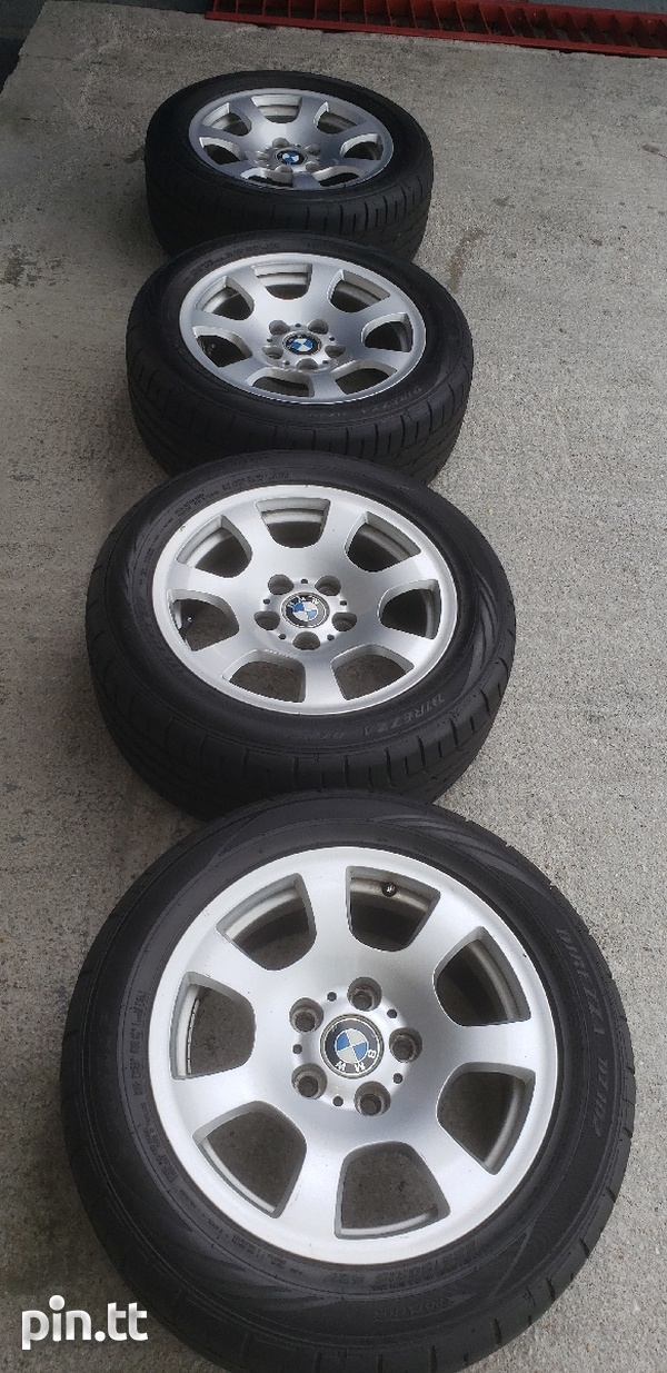 Bmw e60 rims and tyres-1