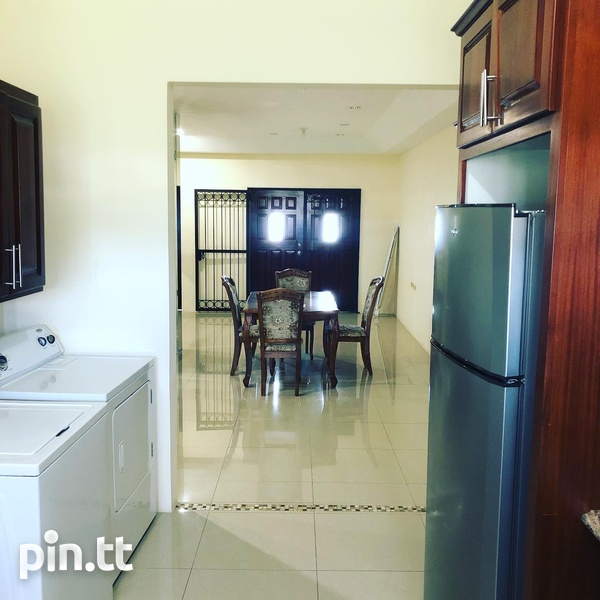 Fully Furnished 2 Bedroom Apartment Trincity-3