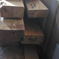 2 Lots of Used Lumber