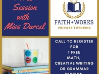 Experienced Tutor for Creative Writing and Maths