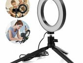 6'' LED Ring Light with Mini Tripod
