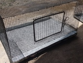 2 Rabbit cages pull-out trays