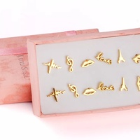 Gold Plated Studs