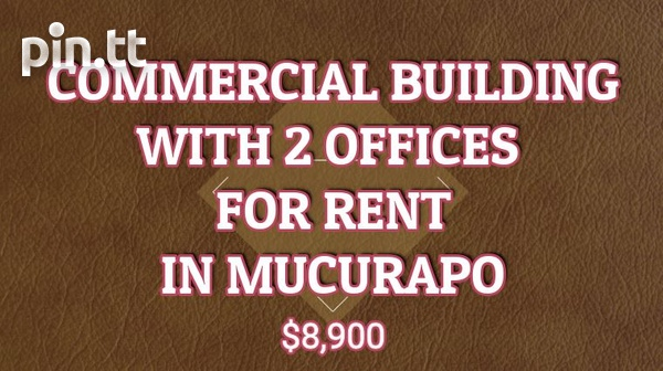 Commercial Bldg with 2 offices in Mucurapo-1