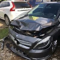 Damaged Mercedes Benz B-class