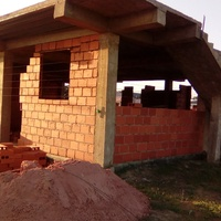 House from foundation to finish neat block work