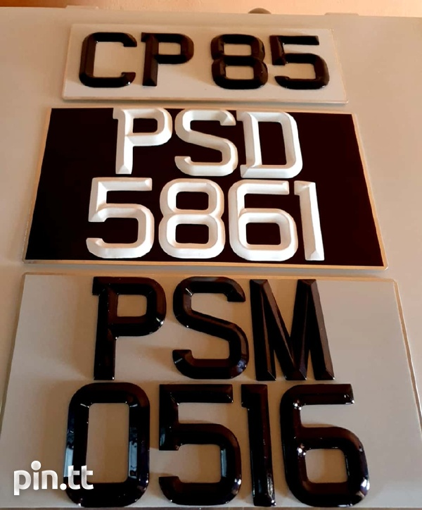 Number plates-2