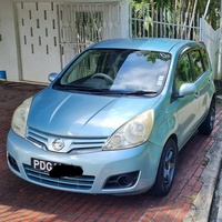 Nissan Note, 2009, PDG