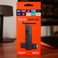 4K Firestick Sealed or Fully Programmed