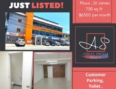 700sqft Commercial Space in St James