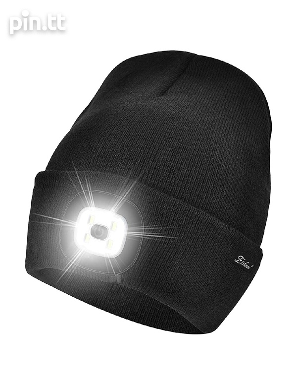 New beanie hats with removable LED rechargeable light-2