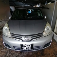 Nissan Note, 2009, PDD