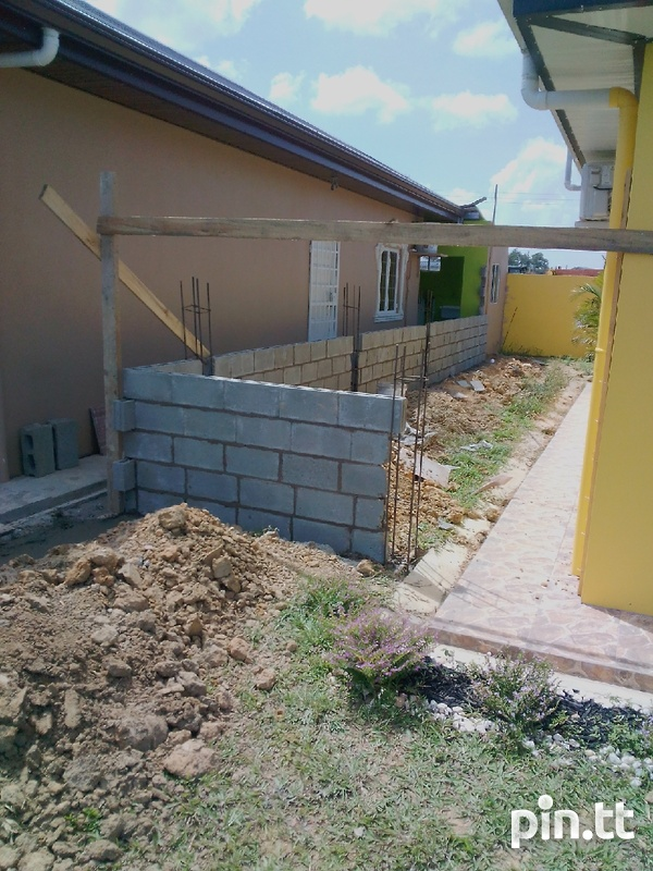 Wall and post construction-2