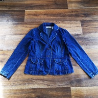 NEW Liz Clairbourne Denim Jacket