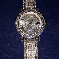 Gold With Diamonds Michael Kors Watch