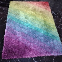 Multicolored rug