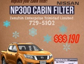 NP300 Cabin filter