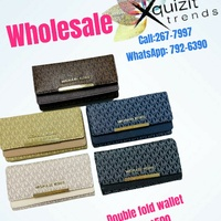 HIGH QUALITY DOUBLE FOLD WALLETS