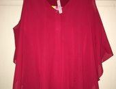 Red Dressy Top
