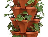 4 Space Stacking Plant Pots