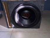 12 inch massive GTX subwoofer